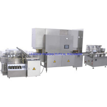 Liquid Bottle Filling Machine Line with Oral Liquid Bottle Ultrasonic Washing
