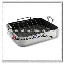 S114 Aluminium Alloy Roast Pan With Rack