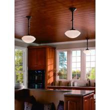Lámpara de techo de vidrio de acero de restaurante (MX4226B-BW)