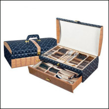 72PCS 84PCS Cutlery Set with Leather Box