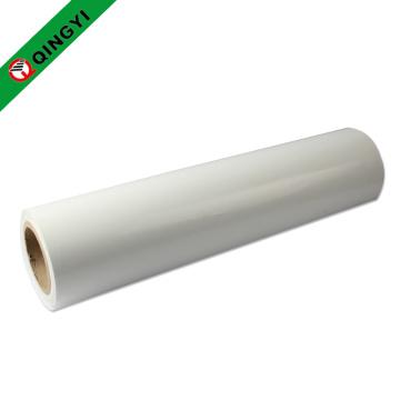 QingYi atacado novo tamanho branco pu transferência de calor rolo de vinil
