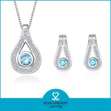 Luxus Rhodium Plating Silber 10 Jahre Hersteller (J-0147)