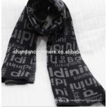 Fabrik heißer Verkauf Innere Mongolei Cashmere Jacquard Knit Schals