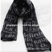 Factory hot sale Inner mongolia Cashmere Jacquard knit scarves