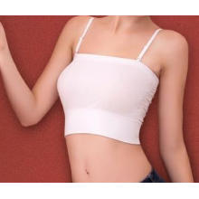 Ladies Seamless Bandeau Straps Tube Top Bra