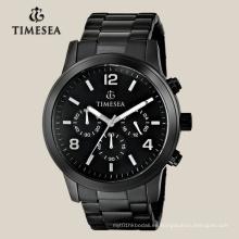 Reloj cronógrafo de alta calidad para hombres con banda de acero inoxidable72040