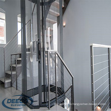 Селитебные интегрированные цене стеклянный дом Нова коммерческих 250кг Лифт комнаты