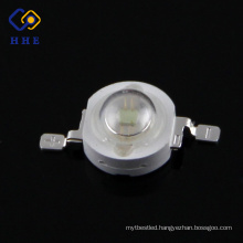 High power 1w blue led 465-470nm led 120 degree with CE ROHS