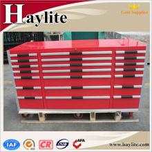 Gabinete chino de fábrica de rodillos de caja de herramientas de garaje
