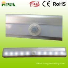 Veilleuse LED capteur pour l'armoire intérieure