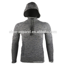 MEN'S LONG SLEEVE TRAINING TOP COMPRESSION HOODIES