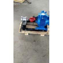 Pompe à haute pression de pompe à engrenages de transfert d'huile végétale d'acier inoxydable de la pompe 2CY