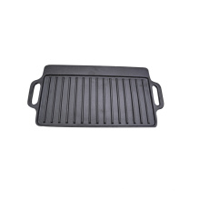 Custom cast iron BBQ/steak griddle plate