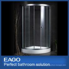Estructura de aluminio de vidrio templado EAGO Recinto de ducha