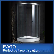 Tempered glass aluminum frame EAGO Shower enclosure