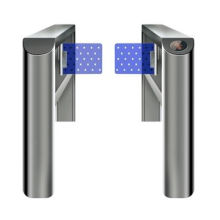 Flap Barrier, Available as a Single/Multiple Lane Setup, Compatible with Access Control Systems