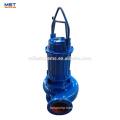 Submersible non-clogging basement sewage pump
