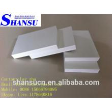 Panneau de mousse de croûte de PVC pour le coffret, panneau de mousse de PVC à haute densité Celuka