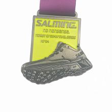 Gun black shoe metal custom кроссовки медаль
