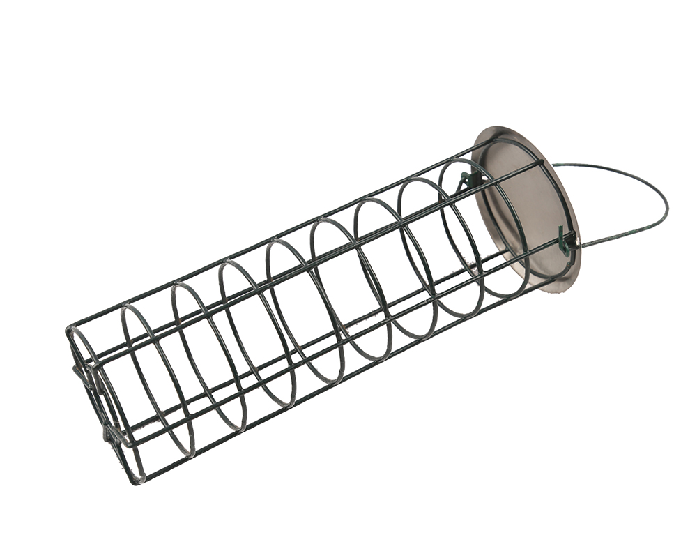 Galvanized Metal Bird Feeder
