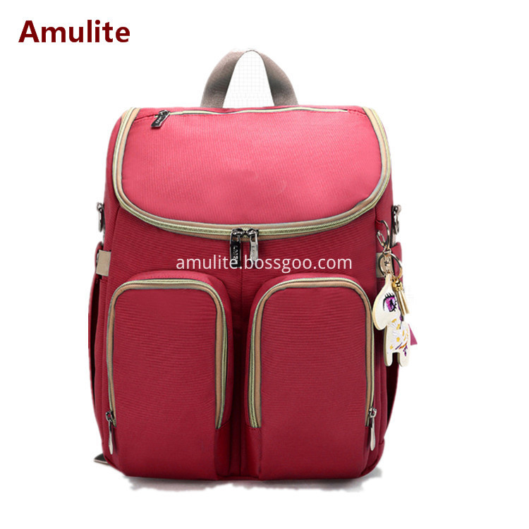 Daby outside mother bag