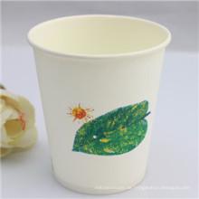 Eco-freundliche Einweg-Kaffee-Papierbecher (PC-4208)