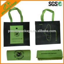 Venda quente portátil não tecido dobrável promoção saco