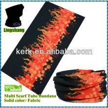 LSB66 Ningbo Lingshang Multifunctional Seamless outdoor pretty seamless tube bandanas