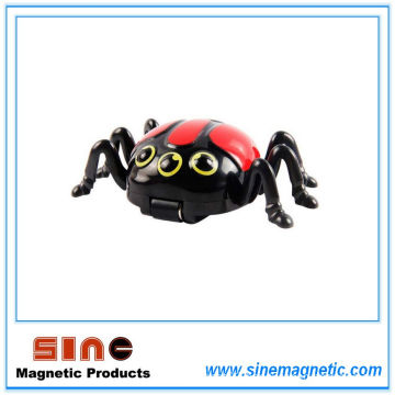 Creative Electric Magnetic Ladybird Model