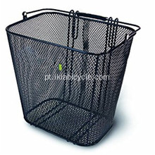 Black Bicycle Basket Steel