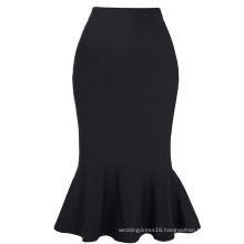 Kate Kasin Occident Women Fashion Office Lady Causal Mermaid Hips-Wrapped Pencil Skirt KK000241-1