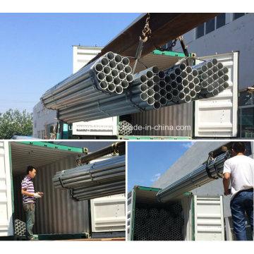 A tubulação de aço galvanizada / galvanizou o tubo de aço / galvanizou a canalização / Zn revestido-87