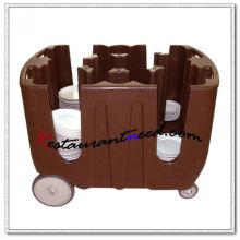 P293 4 divisórias ajustáveis Dish Caddy