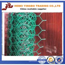 El PVC cubrió la red de alambre hexagonal (LY0001)