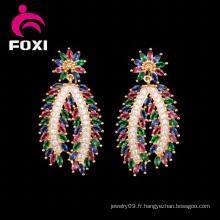Dernières boucles d'oreilles Design Long Pendant Beautiful Charm Earrings
