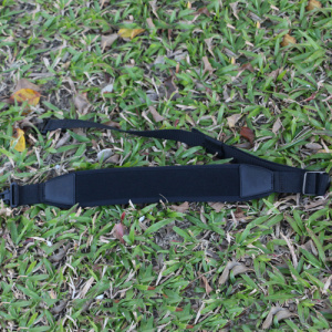 Neoprene Black Rectangle Gun Sling