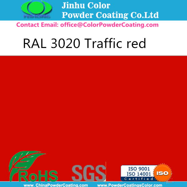 RAL 3020 Powder Coating High Gloss