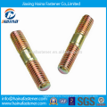Stock DIN835 DIN938 M10 Color Zinc Plated Double End Studs