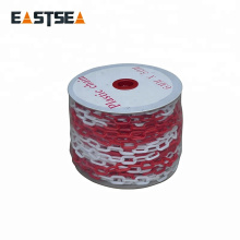 Traffic Safety Dia 6mm/8mm/10mm Traffic Barrier Plastic Chain