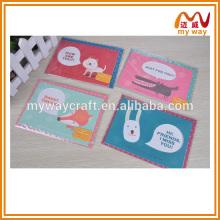 Прекрасная открытка для животных, открытки с поздравлением на день рождения ручной работы