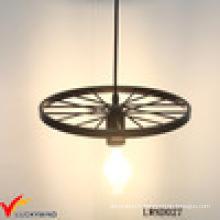 Home Decor Lampe de plafond à carreaux en métal à la main