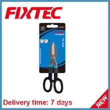 """Fixtec Hand Tools - Recorte de lata de acero al carbono, 10 """", con mango de PVC"""