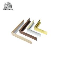 Profilé d'extrusion en aluminium anodisé brut et mat pour cadres photo