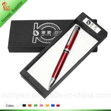 Bolígrafo promocional de metal para caja de regalo