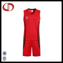 OEM Service Fashion Breathable Unisex Custom Basketball Uniformen