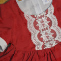 Boutique red viscose outfit