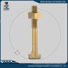Perno de leva galvanizado según estándar UIC864-2