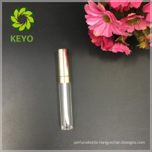 Hot sale luxury clear empty cosmetic packaging lip gloss tube