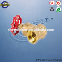 brass e-casting body gate valve with handlewheel