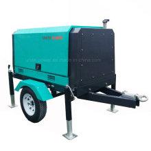 Sistema de generador diesel móvil insonoro de la prenda impermeable 21kVA para la promoción